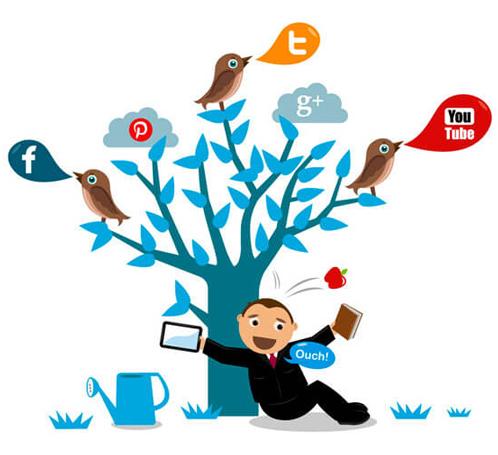stratégie médias sociaux